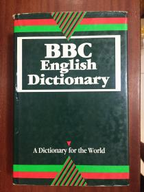 个人藏书 扉页有章 未使用英国进口原装辞典 BBC English Dictionary  BBC英语词典