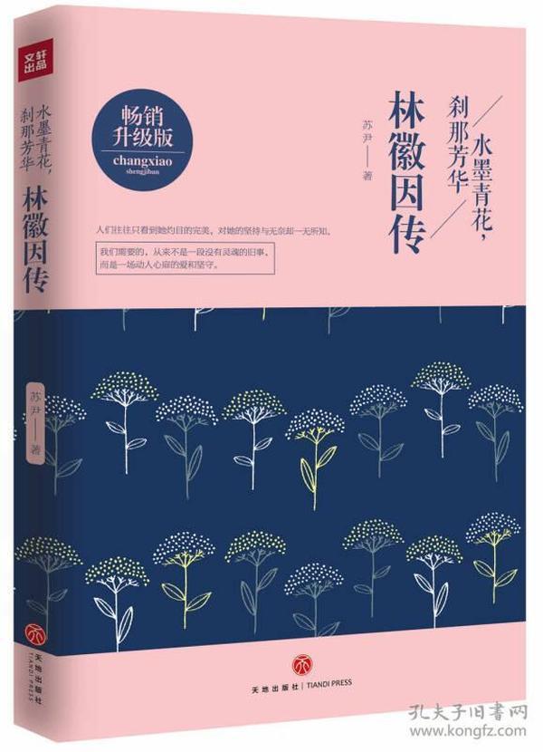 水墨青花,刹那芳华:林徽因传