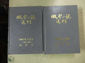 微型小说选刊(2002年1—24.全年精装合订本)(两册全)