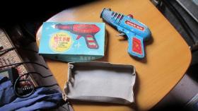 铁皮玩具-----小朋友手枪------1把(货号1043)