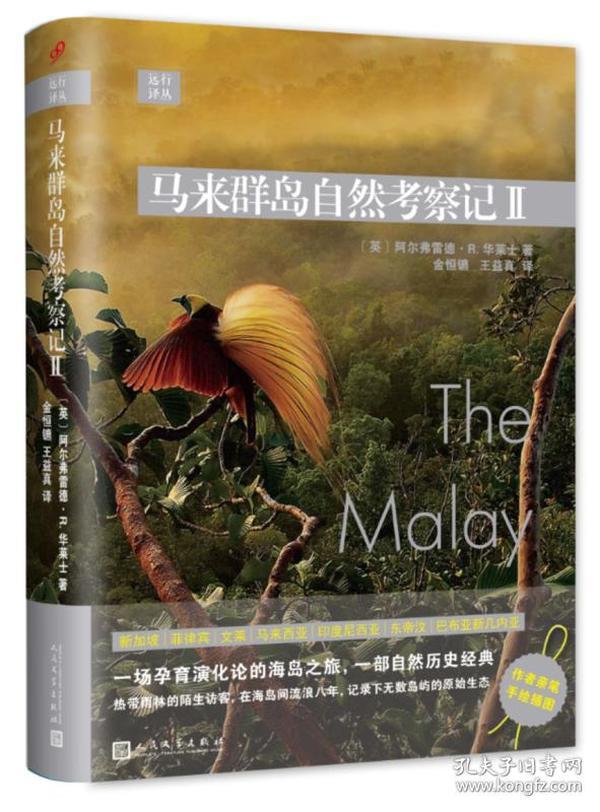 远行译丛:马来群岛自然考察记II(精装)