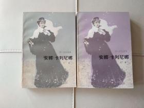 (世界名著)安娜・卡列尼娜(上下二册全)人民文学出版。