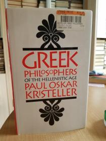 Greek Philosophers of the Hellenistic Age