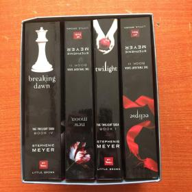 The Twilight Saga Intl Collection (Box Set)暮光之城1-4册带函套