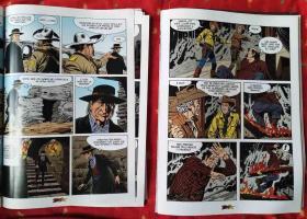 外文原版漫画2册:TEX TERRA SEM LEI(2);TEX A MARCA DA SERPENTE(3)