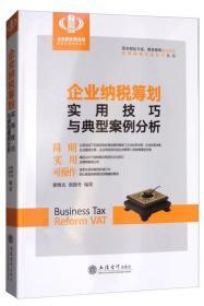 企业纳税筹划实用技巧与典型案例分析