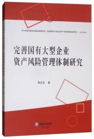完善国有大型企业资产风险管理体制研究
