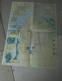 南通市旅游图(1988)