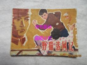 野猫落网记——根据刘厚明、肖尹宪电影剧本改编连环画
