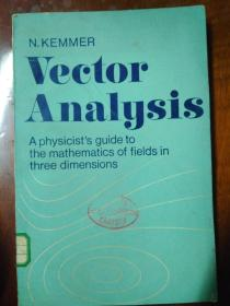 Vector Analysis: A physicist's guide to the mathematics of fields in three dimensions 向量分析 (馆藏)