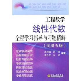 工程数学线性代数全程学习指导与习题精解(同济5版)