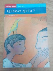 法文原版书:Quest-ce quil a ? : Le Handicap 他怎么了?残疾