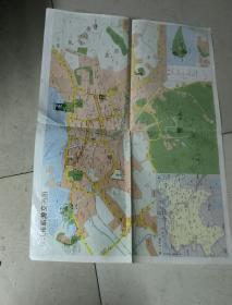 镇江旅游交通图1993