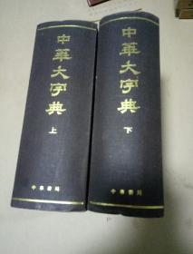 中华大字典:缩印本二册.上下册  精装