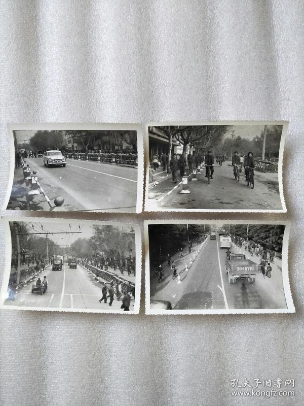 盐城街道老照片四张