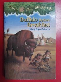 Buffalo before Breakfast (Magic Tree House #18)神奇树屋系列18:早餐前