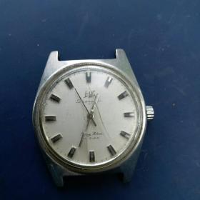 老手表 上海全钢防震 手表