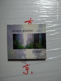 乔治温斯顿 George Winston森林+四季+大地+夏日+辞冬+十二月+音乐圣殿 CD(7盒合售)