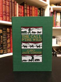 《 The Call of the Wild(野性的呼唤) 》Easton Press Deluxe Edition 绿色函套 复刻1903初版