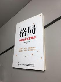 格局——中国企业高管修炼 【一版一印 95品+++ 内页干净 实图拍摄 看图下单 收藏佳品】