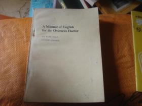 A Manual of English for the Overseas Doctor