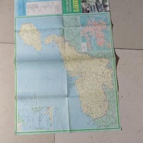 广东省交通旅行图(1985)