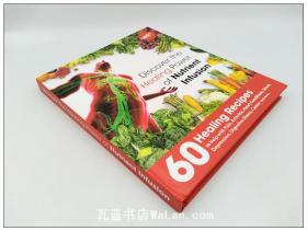 蔬果食疗食谱 Discover the healing power of nutrient infusion 英文原版