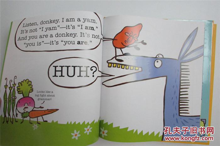 �y�9.��i���+��y�*:,��$yam9ib�.�_精装英文原版 i yam a donkey! 儿童启蒙绘本