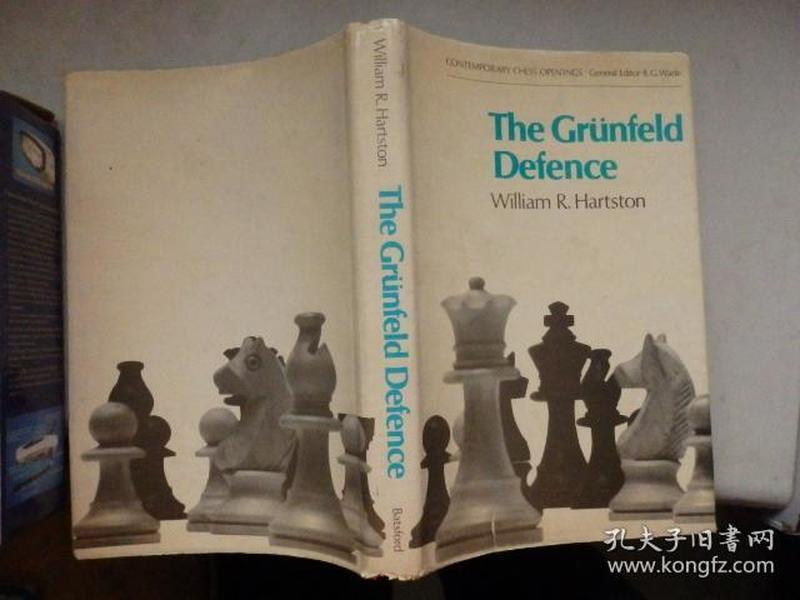 The Grünfeld Defence(国际象棋类书籍) 有签名 1971年印刷