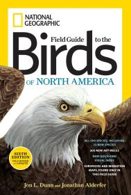 英文原版书 全新 National Geographic Field Guide to the Birds of North America, Sixth Edition
