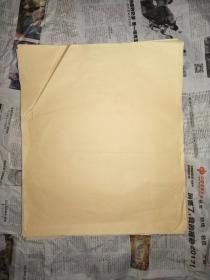 湖州产——金黄抄经纸(十年时间应该有了,估计2000年前后生产)——41X35厘米,约300张合售