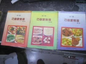 巧做家常菜----荤菜、素菜、汤羹【三册合售】