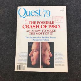 英文原版杂志:Quest 79 The pursuit of Excellence