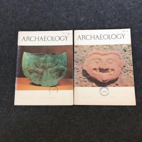 英文原版:ARCHAEOLOGY【考古学2本合售】内有大量插图