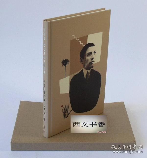 法国著名小说家阿尔贝·加缪名著《局外人》黑白插图,2011年伦敦出版