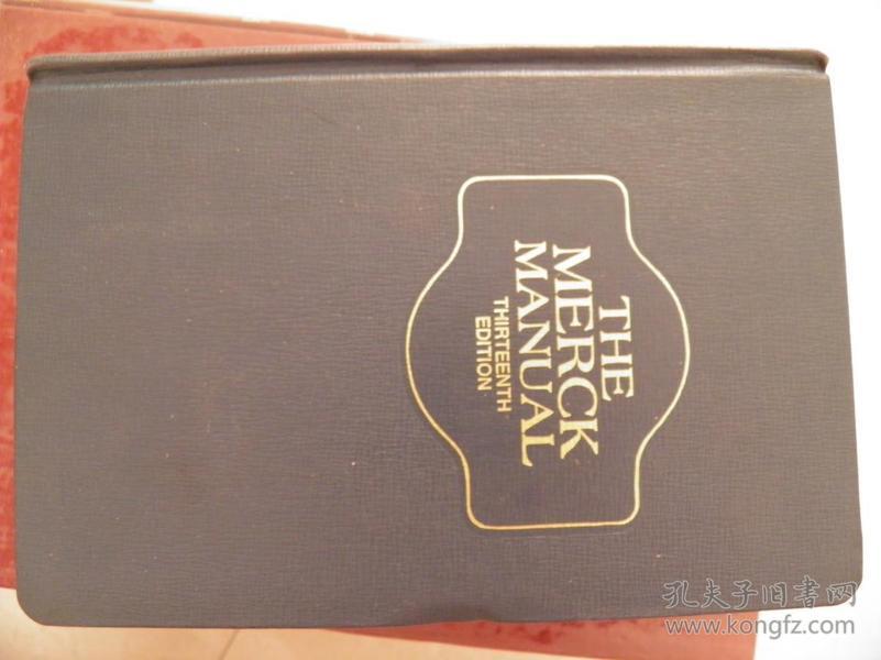 THE MERCK MANUAL(THIRTEENTH EDITION)