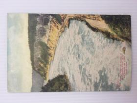 1925年8月26日美国(罗切斯特大峡谷)实寄明信片贴早期邮票2枚