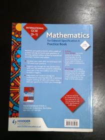 英文原版进口 Edexcel国际GCSE(9-1)数学A 英国版 Edexcel International GCSE (9-1) Mathematics for Edexcel Specification A  UK ed. Edition