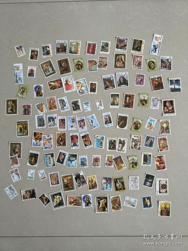 外国邮票100张无重复,涨人气,48元特价包邮