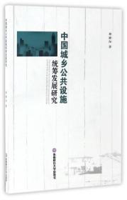 中国城乡公共设施统筹发展研究