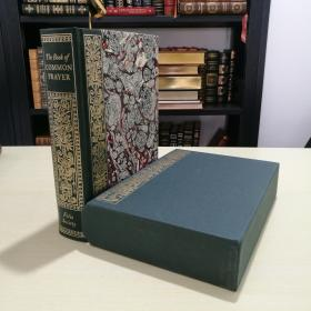 The Book of Common Prayer 《公祷书》 folio society 2004 年出版 真皮书脊 装帧精美 全新带书匣