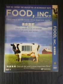 D9 食品公司 Food, Inc. 又名: 毒食难肥 导演: 罗伯特·肯纳 1碟 版本配置: 木兰花1区版+3区官方中英文字幕+完整花絮