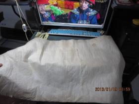清代上等蝉翼纸4张(皮纸),做假必备,    存于a纸箱150