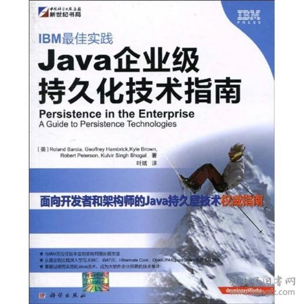 IBM最佳实践:Java企业级持久化技术指南