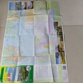 珠海市区交通游览图(1994版)