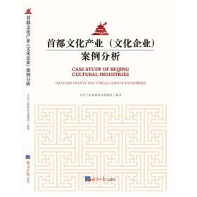 首都文化产业(文化企业)案例分析