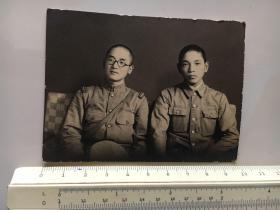 侵华日军照片:二个日本兵