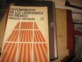 LA FORMACION  DE LOS LATIFUNDIOS EN MEXICO