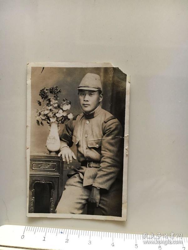侵华日军照片:一个日本兵