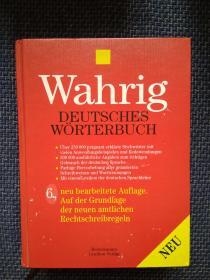 德国原版进口 瓦里格德语词典Wahrig Deutsches Worterbuch (German Edition)